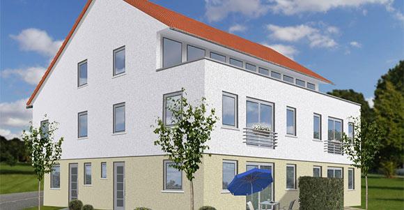 Mehrfamilienhaus mit 4 Wohneinheiten in Freiberg am Neckar