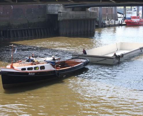 Referenzen Phisto Wohnbau GmbH & Co. KG, Hausboot in Hamburg, Uferstraße 2