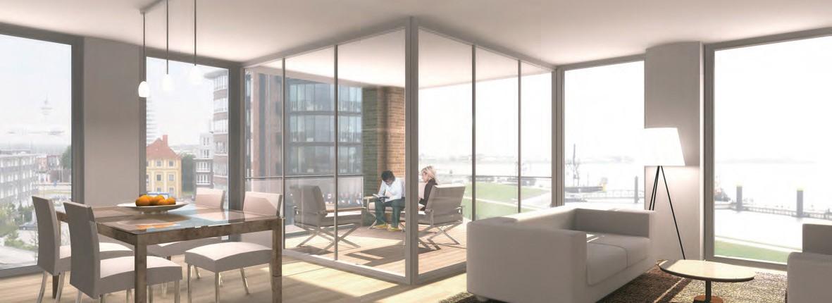 Referenzen - Phisto Wohnbau GmbH & Co. KG, New-Port-Projekt der JPS Architekten & Ingenieure Bremerhaven / Stuttgart